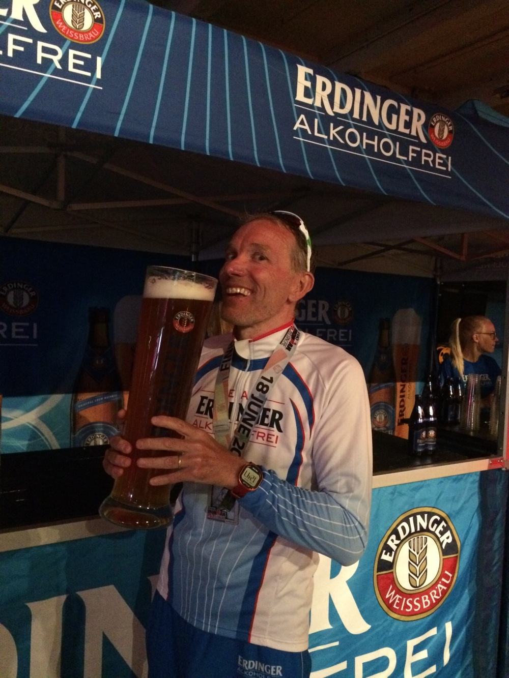 Post race Erdinger Elsinore